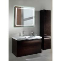 Квадратное зеркало с подсветкой в ванной Катро 60x60 см