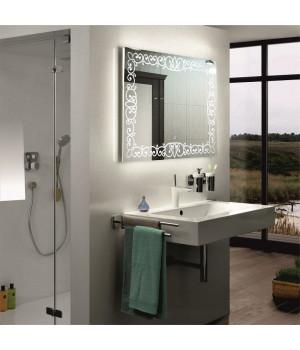 Зеркало в ванную со светодиодной подсветкой Каролина 50x50 см