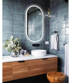 Зеркало в ванную комнату с внутренней подсветкой