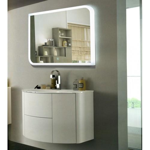Зеркало в ванную комнату с подсветкой Элла